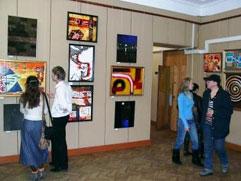 Выставка учеников Андрея Жилина в мэрии Иркутска